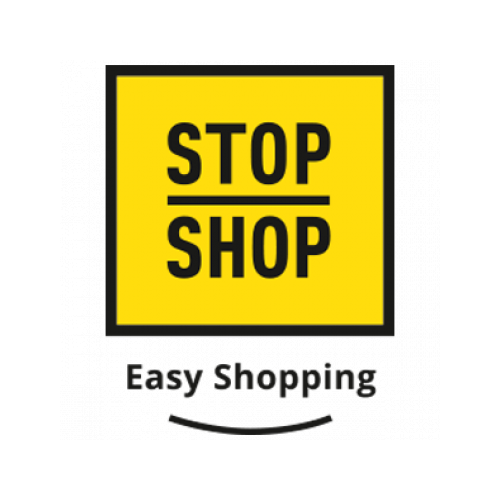 Stop Shop, easy shopping logo