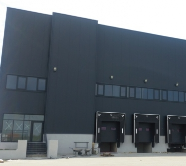 Distributive center of ERG company